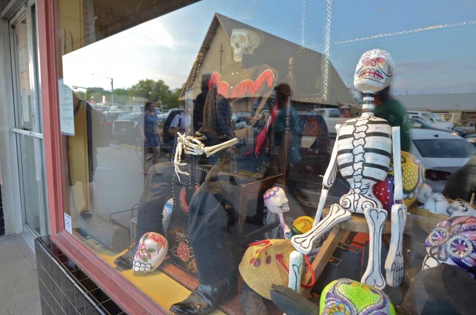 Austin's Spooky skeletons